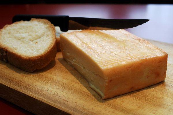 Le maroilles, le plus fin des fromages forts.