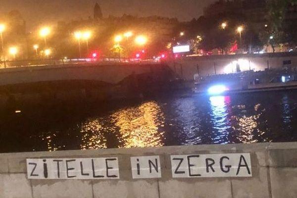 Zitelle in Zerga, jeunes filles en colère, du nom du groupe à l'initiative des manifestations en Corse.