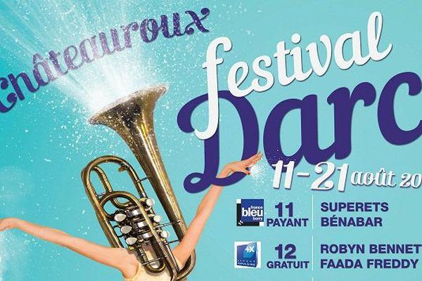 L'affiche du 40ème Festival D'Arc