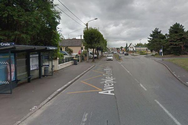 Arrêt de bus Trois Croix à Rennes
