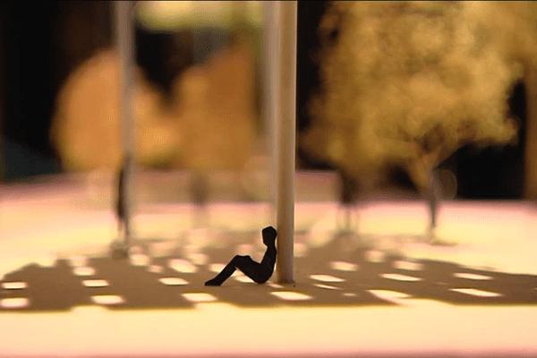 Détail d'une des maquettes exposées aux Champs-Libres