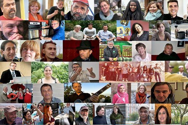 Histoires Ordinaires ce sont plus de 400  portraits d'anonymes, rebelles, solidaires, engagés, passionnés…