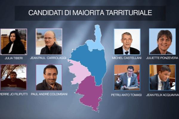 Législatives – Les candidats nationalistes en Corse