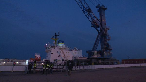 Les deux navires anglais ont été fabriqués spécialement pour le transport du Mox.