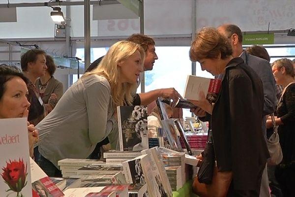 L'écrivain David Foenkinos fut le parrain de l'édition 2012 du salon du livre de Besançon.