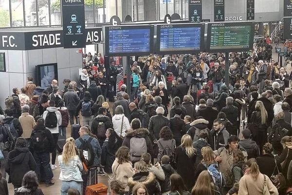 Gare de Rennes / 24/10/19