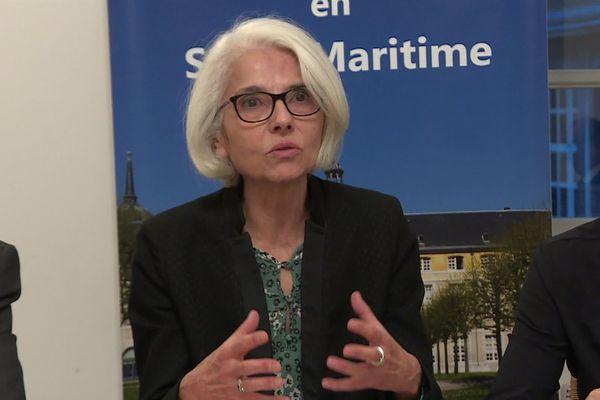 Christine Gardel, directrice générale de l'ARS Normandie