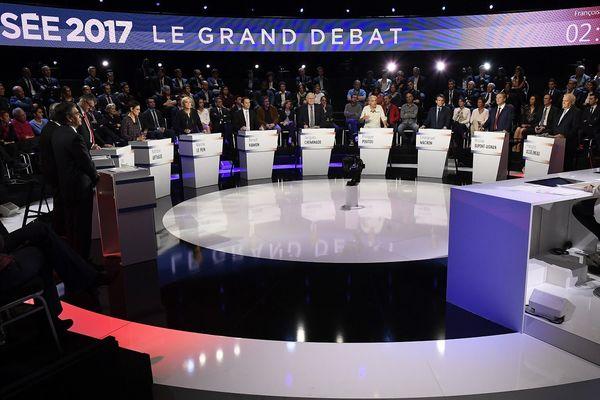 Les 11 candidats à l'élection présidentielle ont participé à un grand débat, mardi 4 avril sur le plateau de BFMTV et CNews.