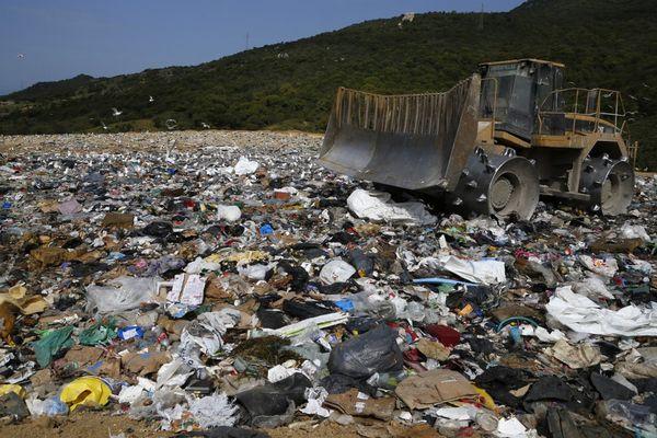 ILLUSTRATION - Centre d'enfouissement des déchets de Viggianello.