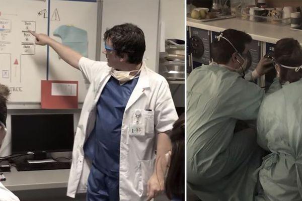 """Une parodie de """"la Casa de Papel"""" réalisée par des soignants de l'hôpital de Lomme"""