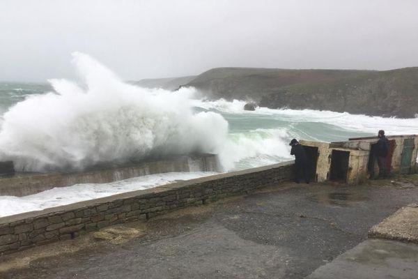 Coup de vent dans le Finistère