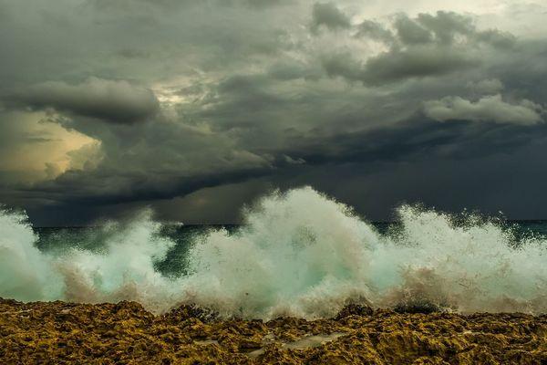 Avis de tempête sur les côtes d'Aquitaine pour ce vendredi 22 janvier 2021.