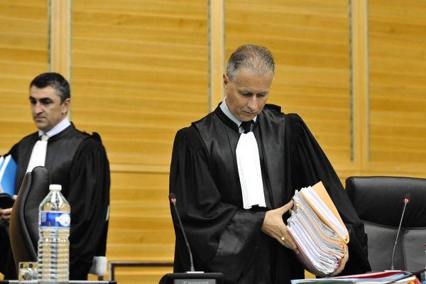 Pascal Almy, le président du tribunal des Sables d'Olonne