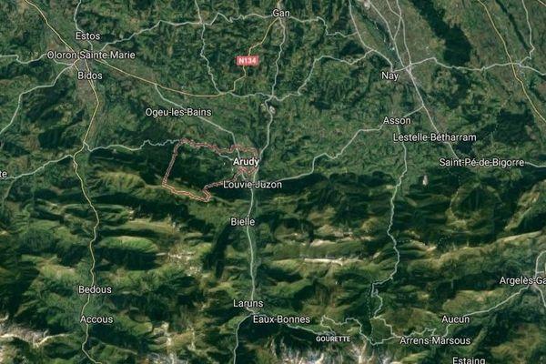 Le séisme de 3,2 sur l'échelle de Richter a été enregistré près d'Arudy, dans les Pyrénées-Atlantiques.
