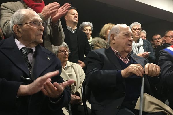 Michel Duru et Michel Reynaud, résistants du Loir-et-Cher et co-fondateurs du Musée de la Résistance