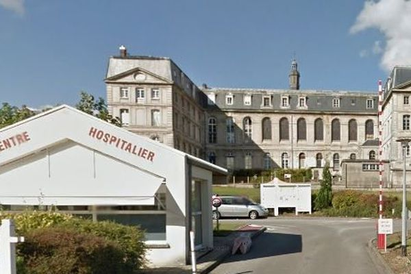 Hopital de Bernay (Eure)