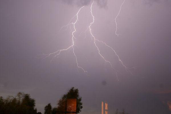 Des orages sont attendus en Aquitaine ce mardi 11 juin (image d'illustration)