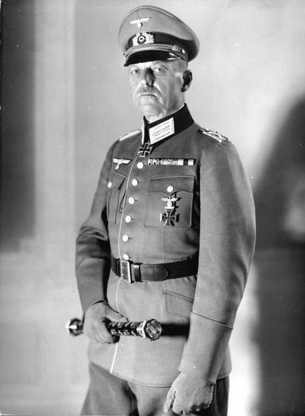 Le maréchal allemand Gerd von Rundstedt en 1940.