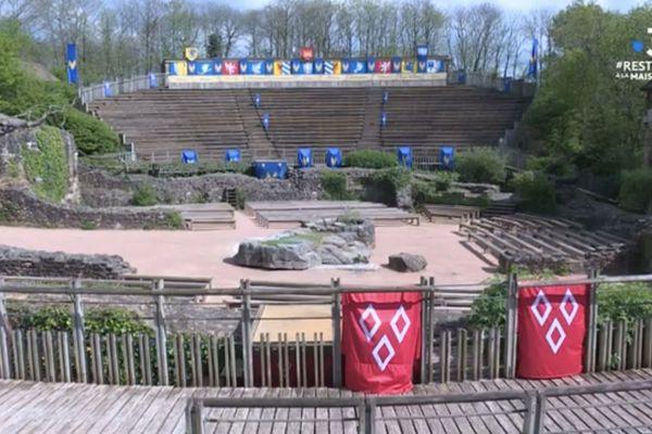 Le parc du Puy du Fou n'ouvrira pas ses portes avant au moins le 14 mai.