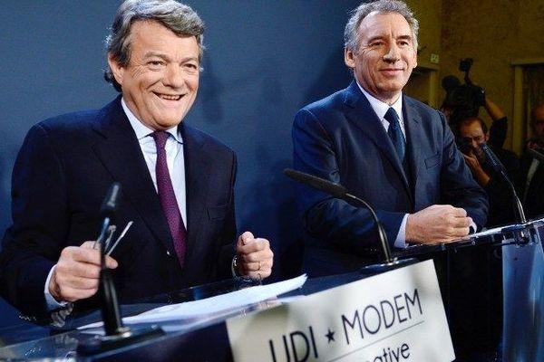 Jean-Louis Boorlo et François Bayrou