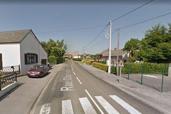L'accident mortel a eu lieu rue Charles-Hanoteau, à Ohain.