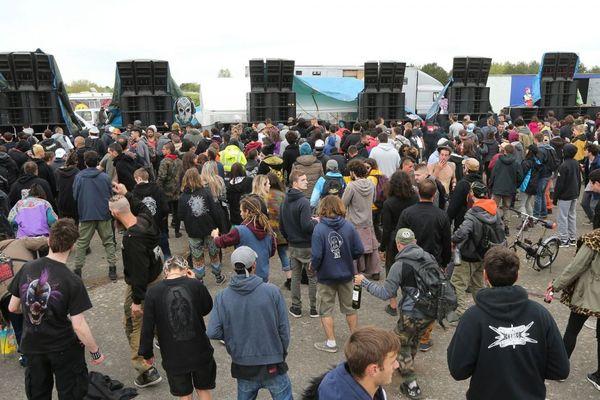 Le Teknival de Marigny (Marne) avait rassemblé 20 000 personnes en 2018.