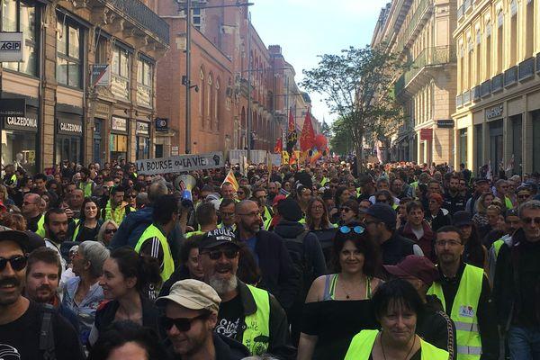 Toulouse reste le point d'orgue de la mobilisation.
