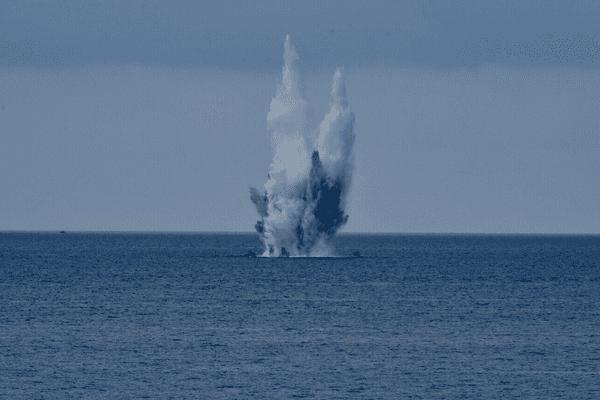 La bombe de 250 kilos datant de la seconde guerre mondiale et retrouvée près de Nice a été détruite ce mercredi matin.