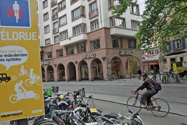 Centre-ville de Strasbourg.