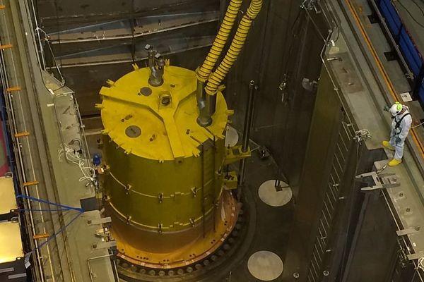 Le réacteur n°1 de la centrale nucléaire de Civaux en mars 2016