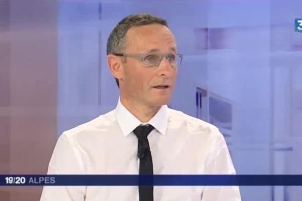 Patrice Sibut, le directeur de la Fédération des chasseurs de l'Isère