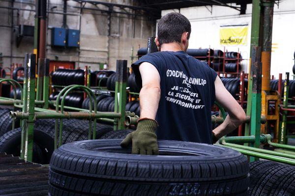 Cinq salariés de l'usine Dunlop-Goodyear de Montluçon vont être indemnisé par l'Etat.