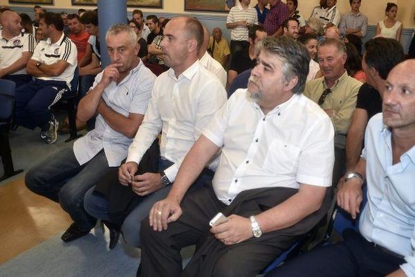 Les dirigeants de Luzenac au Tribunal administratif de Toulouse ce 3 septembre