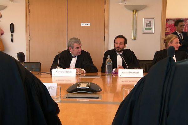 Lors d'une réunion ce vendredi Carole Delga a annoncé son soutien aux avocats d'Occitanie - 9 février 2020