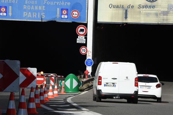 Trémie de Lyon-Perrache, le 12 septembre 2019