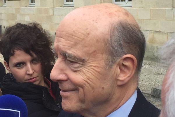 """Alain Juppé """" J'ai envie d'être libre """""""