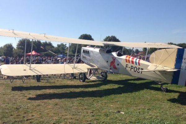 Cet exemple de Bréguet XIV a vu le jour il y a plus d'un siècle. C'est l'avion utilisé par Gustave Minier pour transporter le texte d'armistice aux autorités allemandes.