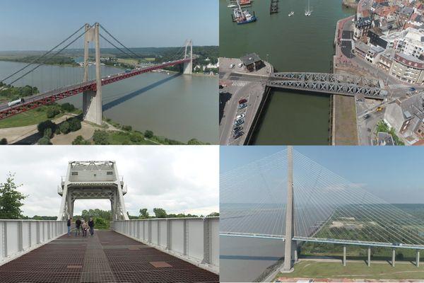 Découvrez ou redécouvrez l'histoire des ponts de Normandie.
