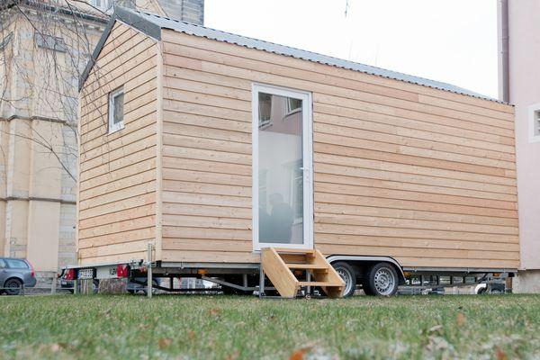 Matthieu Rouveyre a imaginé l'implantation de 178 Tiny Houses (image d'illustration)
