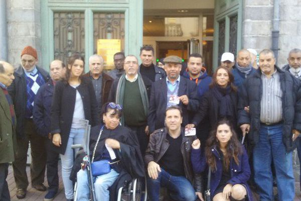 Les mineurs marocains présents à l'audience ce matin