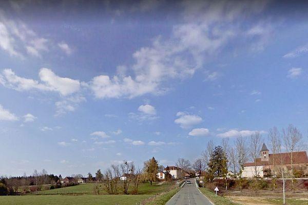 La commune de Sagy, dans la Bresse, en Saône-et-Loire.