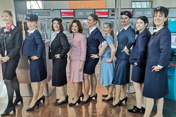 Les uniformes étaient portés entre 1987 et 2005.