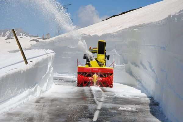 La Haute-Savoie est équipée de 154 camions et chasse-neiges, et dispose de 141 circuits de déneigement.