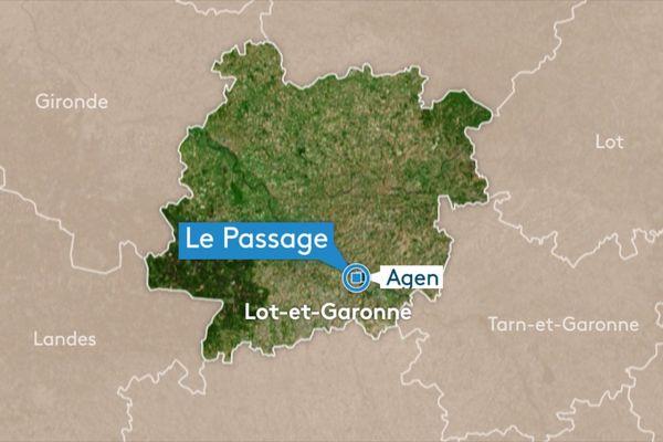 Le Passage d'Agen dans le Lot-et-Garonne