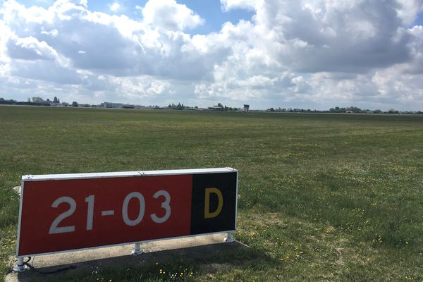 L'aéroport de Poitiers-Biard dispose d'une vaste prairie naturelle autour de la piste d'atterrissage.