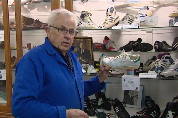 Werner Alvin a participé à la confection du modèle de tennis Stan Smith, redevenu à la mode ces dernières années.