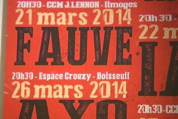 Fauve sera en concert à Limoges le 21 mars.