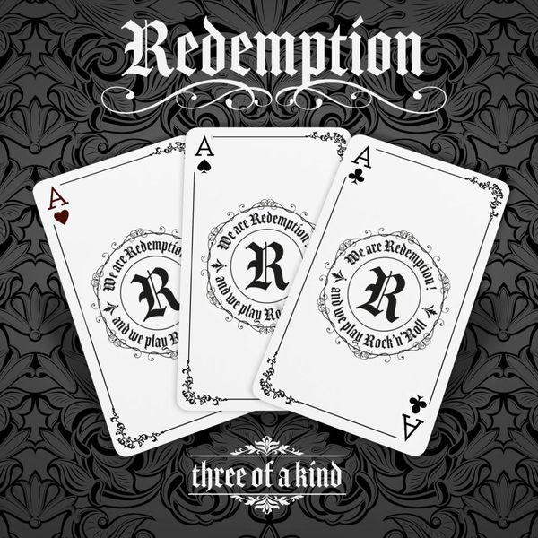Les trois membres de Redemption ont travaillé avec le graphiste Alexandre Soles pour la réalisation de leur pochette d'album.