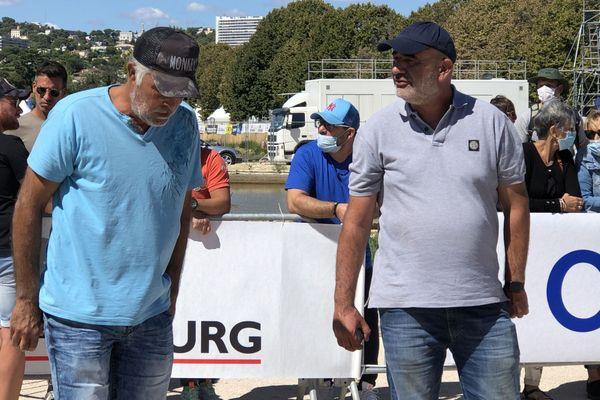Jean-Louis Flores et Christophe Victorien.