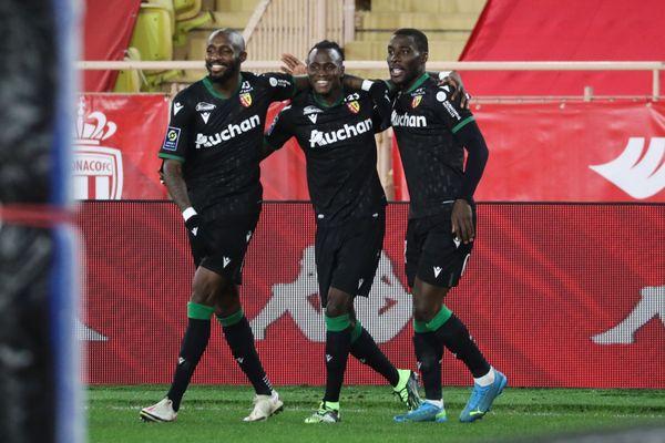 Sylla a ouvert le score à la 36 ème... seconde. Le RC Lens s'est imposé 3 à 0 face à Monaco.